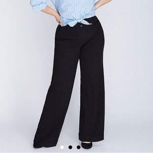 Lane Bryant wide leg dress pant TALL